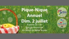 Pique-Nique FSGL - Paris 2018 à Paris le dim.  2 juillet 2017 de 13h00 à 18h00 (Pique-Nique Gay, Lesbienne, Hétéro Friendly, Trans, Bi)