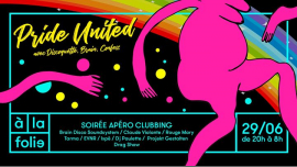 Pride United em Paris le sáb, 29 junho 2019 20:00-08:00 (Clubbing Gay Friendly)
