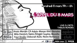 L'Appel du 8 Mars 2ème Edition à Paris le ven.  8 mars 2019 de 18h00 à 06h00 (Clubbing Gay, Lesbienne, Trans, Bi)