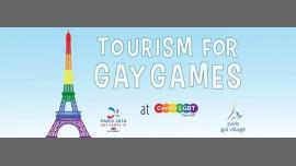 Tourism for Gay Games à Paris du  5 au 11 août 2018 (Rencontres / Débats Gay, Lesbienne, Trans, Bi)