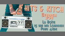 Soirée Hits & Kitsch in Paris le Fri, July 26, 2019 from 08:00 pm to 03:00 am (Clubbing Gay)