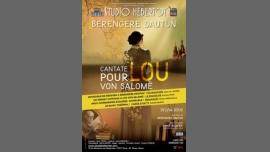 Cantate pour Lou Von Salomé en Paris le lun 12 de marzo de 2018 20:00-21:15 (Teatro Gay Friendly, Lesbiana Friendly)