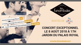 Les Funambules | Concert exceptionnel (gratuit) Gay Games 2018 à Paris le mer.  8 août 2018 de 17h00 à 18h00 (Concert Gay Friendly)