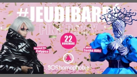 JeudiBarré // Pink Party // SOS homophobie in Paris le Do 22. November, 2018 19.30 bis 02.00 (After-Work Gay Friendly)