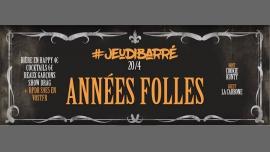 JeudiBarré // Années Folles à Paris le jeu. 27 avril 2017 de 19h00 à 02h00 (After-Work Gay)