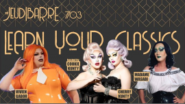 JeudiBarré // Learn your classics à Paris le jeu.  7 mars 2019 de 19h30 à 02h00 (After-Work Gay Friendly)