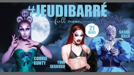 JeudiBarré // Full moon party à Paris le jeu. 21 mars 2019 de 19h30 à 02h00 (After-Work Gay)