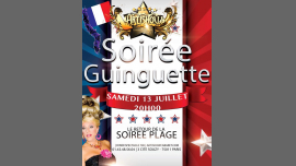 Soirée Plage Guinguette Marraine Ysa Ferrer à Paris le sam. 13 juillet 2019 de 20h00 à 00h30 (Spectacle Gay Friendly)