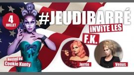 JeudiBarré invite les FK in Paris le Thu, July  4, 2019 from 07:30 pm to 02:00 am (After-Work Gay Friendly)