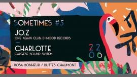 Sometimes #5 à Paris le jeu. 22 juin 2017 de 20h00 à 23h55 (After-Work Gay Friendly, Lesbienne Friendly)