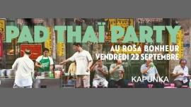 PAD THAÏ PARTY / Kapunka x Rosa Bonheur à Paris le ven. 22 septembre 2017 de 19h00 à 22h00 (After-Work Gay Friendly, Lesbienne Friendly)