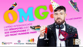OMG ! Afterwork inter-asso des Séropotes em Paris le qua, 19 junho 2019 19:30-23:00 (After-Work Gay, Lesbica, Trans, Bi)