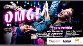 OMG ! Afterwork #1 des Séropotes à Paris le jeu. 27 septembre 2018 de 19h00 à 22h00 (After-Work Gay, Lesbienne, Trans, Bi)