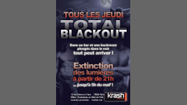Total Blackout! Extinction totale des lumieres ! à Paris le jeu. 21 février 2019 de 21h00 à 05h00 (Sexe Gay)
