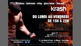 Plan Direct à Paris le mer.  2 janvier 2019 de 15h00 à 22h00 (Sexe Gay)