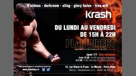 Plan Direct à Paris le lun.  7 janvier 2019 de 15h00 à 22h00 (Sexe Gay)