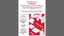 """Dédicace de """"Cheffes"""" ! em Paris le sex,  1 março 2019 19:00-20:30 (Reuniões / Debates Gay, Lesbica, Trans, Bi)"""
