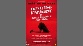 Entretiens d'embauche et autres demandes excessives à Paris le sam. 25 mars 2017 de 19h00 à 20h00 (Théâtre Gay Friendly, Lesbienne Friendly)