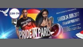 PRIDE IN PARIS OFFICIAL GAY PRIDE PARTY à Paris le sam. 24 juin 2017 de 23h00 à 07h00 (Clubbing Gay, Lesbienne)