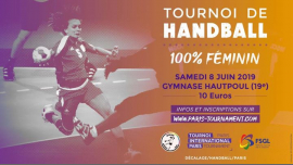 TIP Handball Féminin le 8 juin 2019 in Paris le Sat, June  8, 2019 from 09:30 am to 05:30 pm (Sport Gay, Lesbian)