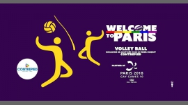 Welcome to Paris - Volley-ball à Paris le dim.  5 août 2018 de 19h00 à 04h00 (After-Work Gay, Lesbienne, Trans, Bi)