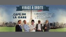 Virage à Droite em Paris le Dom,  5 Novembro 2017 20:30-21:50 (Show Gay Friendly, Lesbica Friendly)