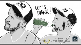 Let's Drink 6 - Bestial Week Festival à Paris le sam. 11 août 2018 de 18h00 à 01h00 (After-Work Gay)