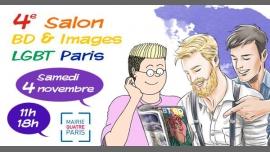 4e Salon BD & Images LGBT Paris in Paris le Sa  4. November, 2017 10.00 bis 18.00 (Begegnungen / Debatte Gay, Lesbierin, Transsexuell, Bi)