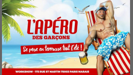 L'apéro des garçons se pose en terrasse tout l'été au Workshow en Paris le sáb 22 de junio de 2019 18:00-02:00 (After-Work Gay)