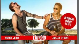 L'apéro des garçons #8 - Dernière avant l'été ! à Paris le sam.  4 mai 2019 de 19h00 à 01h00 (After-Work Gay)