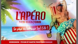 L'apéro des garçons : Pride Edition au Workshow em Paris le sáb, 29 junho 2019 18:00-02:00 (After-Work Gay)