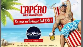 L'apéro des garçons se pose en terrasse tout l'été ! in Paris le Sat, May 18, 2019 from 06:00 pm to 02:00 am (After-Work Gay)