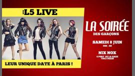 La Soirée des Garçons - New L5 LIVE em Paris le sáb,  8 junho 2019 23:45-06:00 (Clubbing Gay)