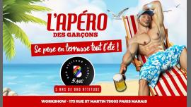 L'apéro des garçons fête les 5 ans de Bad Attitude ! à Paris le sam.  6 juillet 2019 de 18h00 à 02h00 (After-Work Gay)