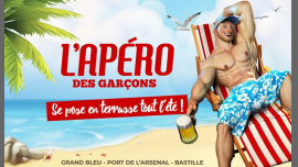 L'apéro des garçons se pose en terrasse tout l'été ! in Paris le Sat, June 15, 2019 from 06:00 pm to 02:00 am (After-Work Gay)