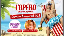 L'apéro des garçons se pose en terrasse tout l'été ! in Paris le Sat, May 25, 2019 from 06:00 pm to 02:00 am (After-Work Gay)