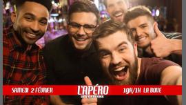L'apéro des garçons #5 à Paris le sam.  2 février 2019 de 19h00 à 01h00 (After-Work Gay)