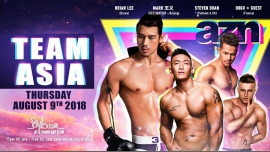 AZN - Team Asia (free till 1am with pass) à Paris le jeu.  9 août 2018 de 23h00 à 06h00 (Clubbing Gay)