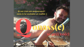 Qonasse se prélasse à Paris le jeu. 13 juin 2019 de 19h00 à 02h00 (After-Work Gay Friendly)