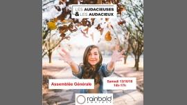 """Assemblée Générale Association """"Les Audacieuses & Audacieux"""" in Paris le Sat, October 13, 2018 from 02:00 pm to 05:00 pm (Community life Gay, Lesbian, Hetero Friendly, Trans, Bi)"""