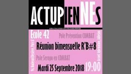 Les ActupienNEs: Réunion Bimensuelle #8 en Paris le mar 25 de septiembre de 2018 19:00-21:00 (Reuniones / Debates Gay, Lesbiana, Trans, Bi)