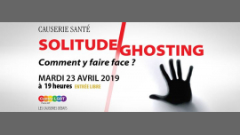 Solitude/ghosting* : comment y faire face ? à Paris le mar. 23 avril 2019 de 19h00 à 21h00 (Rencontres / Débats Gay, Lesbienne, Trans, Bi)