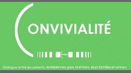 Convivialité 2019 in Paris le Fr 28. Juni, 2019 17.30 bis 22.30 (Begegnungen / Debatte Gay, Lesbierin)