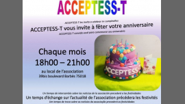 Anniversaires et Vie associative in Paris le Thu, June 27, 2019 from 06:00 pm to 09:00 pm (Community life Gay, Lesbian, Trans, Bi)