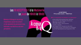 A cœur et a Q in Paris le Thu, June 27, 2019 from 03:00 pm to 07:00 pm (Health care Gay, Lesbian, Trans, Bi)