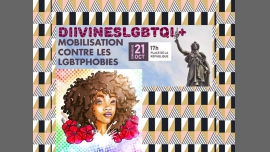 DIIVINESLGBTQI+ CONTRE LES LGBTQIPHOBIES in Paris le Sun, October 21, 2018 from 05:00 pm to 08:00 pm (Parades Gay, Lesbian, Trans, Bi)