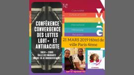 #21MARS ACTIONS DIIVINES JOURNÉE CONTRE/RACISME/LGBTQ/AFROPHOBIE in Paris le Do 21. März, 2019 18.30 bis 22.30 (Begegnungen / Debatte Lesbierin)