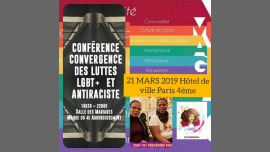 #21MARS ACTIONS DIIVINES JOURNÉE CONTRE/RACISME/LGBTQ/AFROPHOBIE in Paris le Thu, March 21, 2019 from 06:30 pm to 10:30 pm (Meetings / Discussions Lesbian)