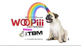 Woopiii, c'est mercredi ! in Paris le Wed, May 15, 2019 from 06:00 pm to 02:00 am (After-Work Gay, Lesbian)