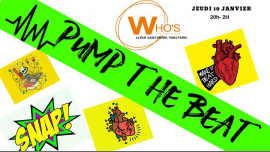 Pump The Beat à Paris le jeu. 10 janvier 2019 de 20h00 à 02h00 (After-Work Gay)